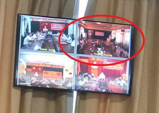 Vì sao huyện Thanh Chương bỏ họp khi Chủ tịch tỉnh phát biểu - 1