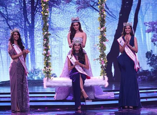 Tân Hoa hậu Ấn Độ: Mạnh mẽ nhờ mẹ! - 1