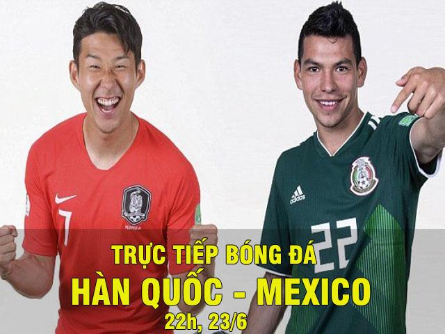 Trực tiếp World Cup Hàn Quốc - Mexico: Phạt đền cay đắng