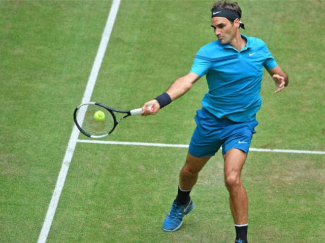 Federer - Coric: Khốc liệt 3 set, bùng nổ ngôi vương (Chung kết Halle Open)