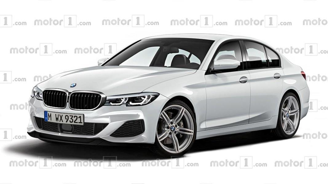 BMW 3-Series thế hệ mới lộ diện trước ngày ra mắt - 1