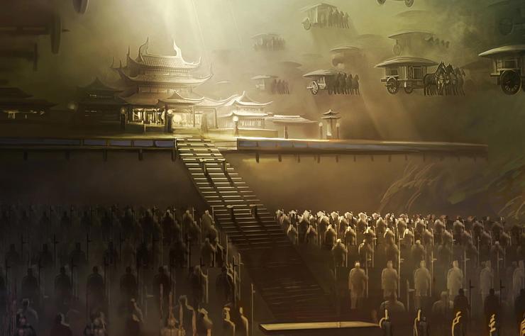 Tìm thấy hài cốt sinh vật lạ trong lăng mộ người thân Tần Thủy Hoàng - 1