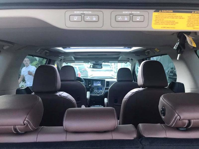 Toyota Sienna Limited 2018 nhập về Việt Nam với giá hơn 4,3 tỷ đồng - 6