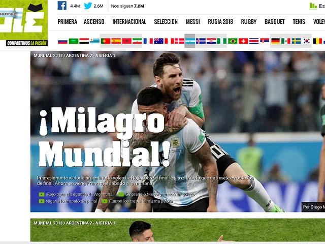 Argentina sống sót ở World Cup: Vỡ òa kỳ tích, báo quốc tế bảo vệ trọng tài