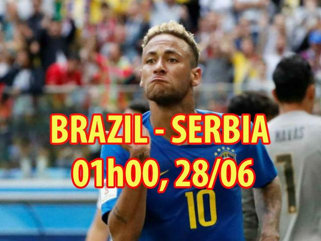 Nhận định bóng đá Brazil – Serbia: Neymar thông nòng, giữ chặt ngôi đầu bảng