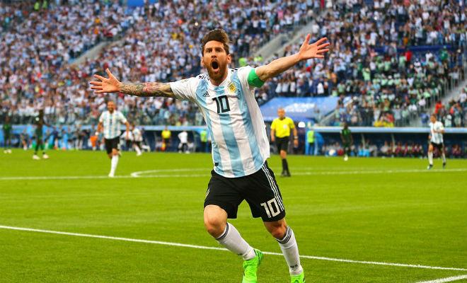 Bảng xếp hạng nóng bỏng World Cup: Messi nối gót Ronaldo, Brazil hẹn đấu Đức - 1