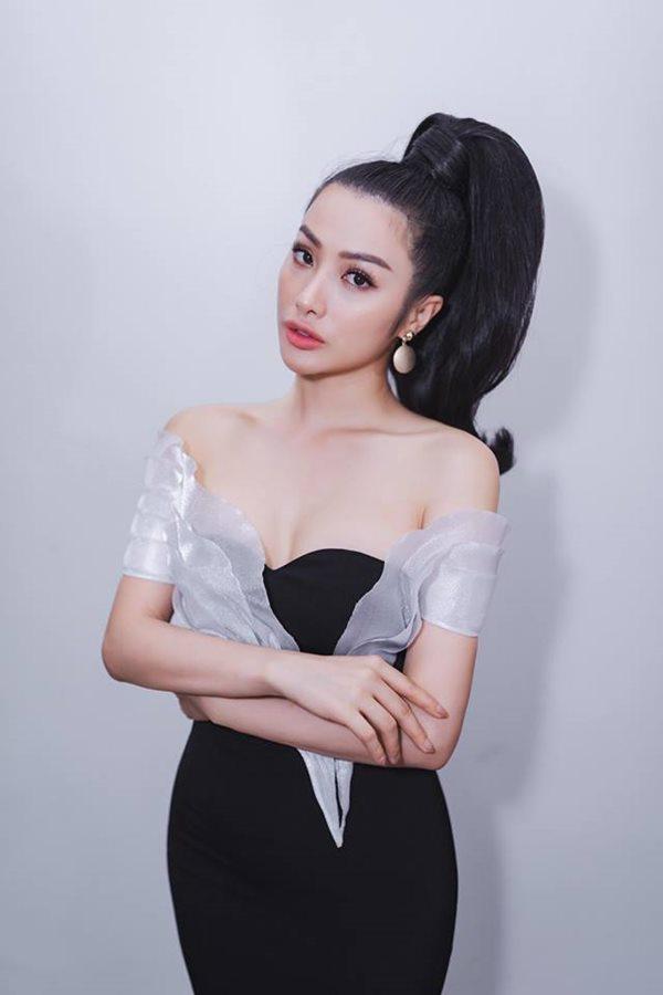 Tình cũ Lương Bằng Quang: Diện váy cắt xẻ hiểm nhưng lại không ghi điểm