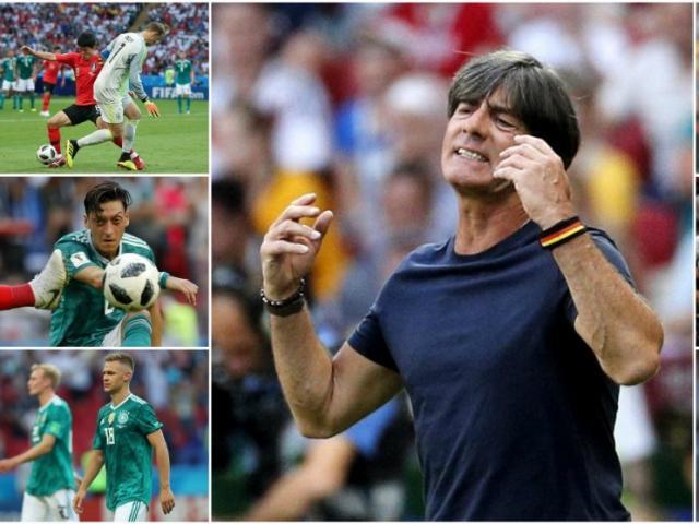 """ĐT Đức, Vua World Cup sớm băng hà: """"Cái chết"""" được báo trước"""
