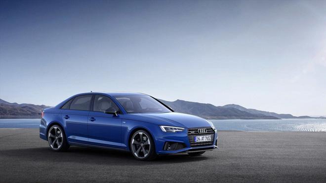 Audi A4 2019 chính thức công bố hình ảnh thực tế: Thể thao và mạnh mẽ hơn - 1