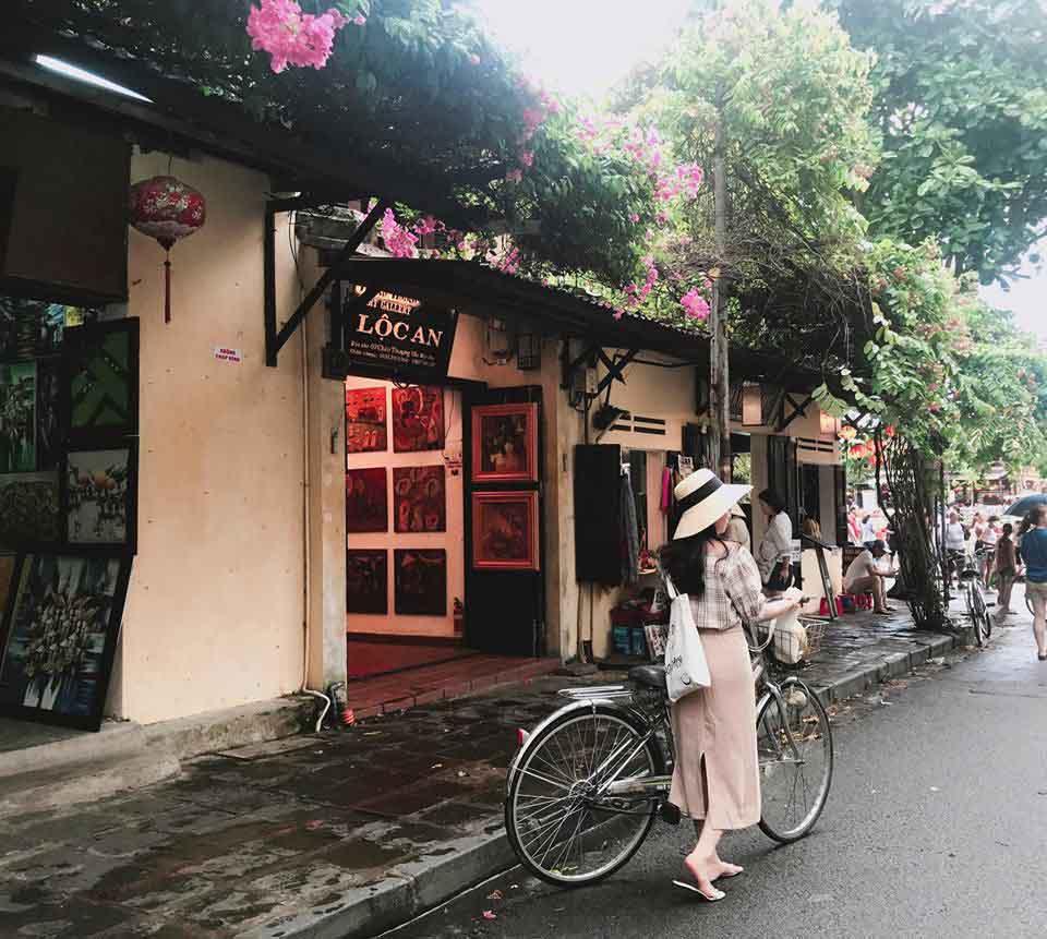 Trải nghiệm đạp xe dạo quanh phố cổ Hội An - 2