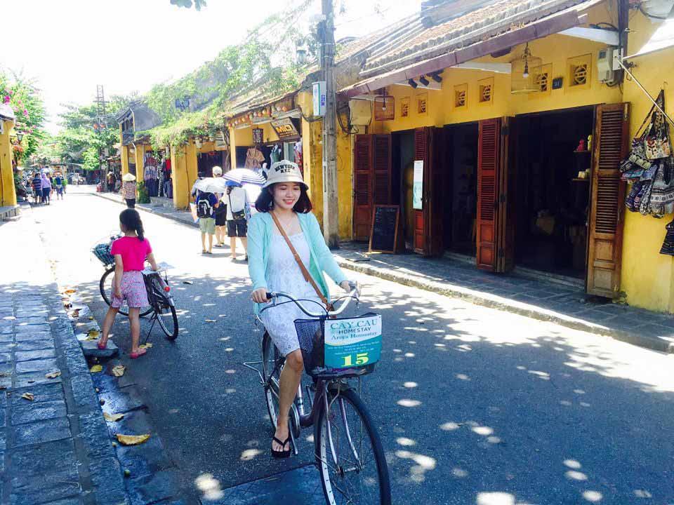 Trải nghiệm đạp xe dạo quanh phố cổ Hội An - 5