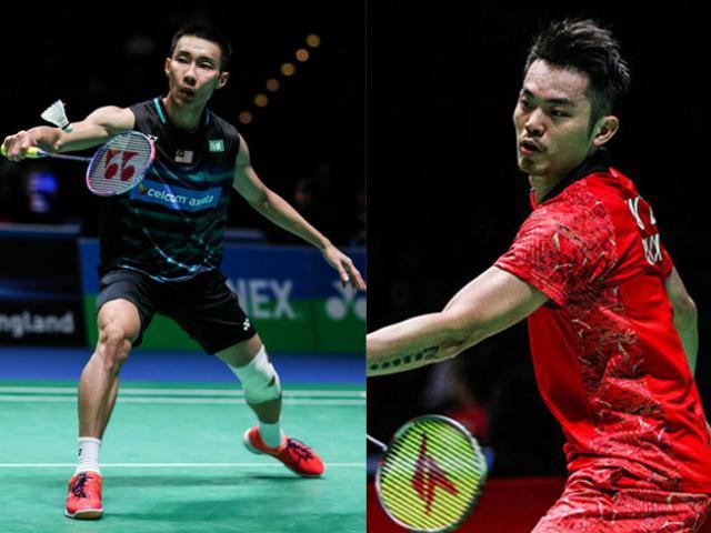 """Cầu lông đỉnh cao: Lin Dan """"hết thời"""", Lee Chong Wei mạnh mẽ """"như thần"""""""