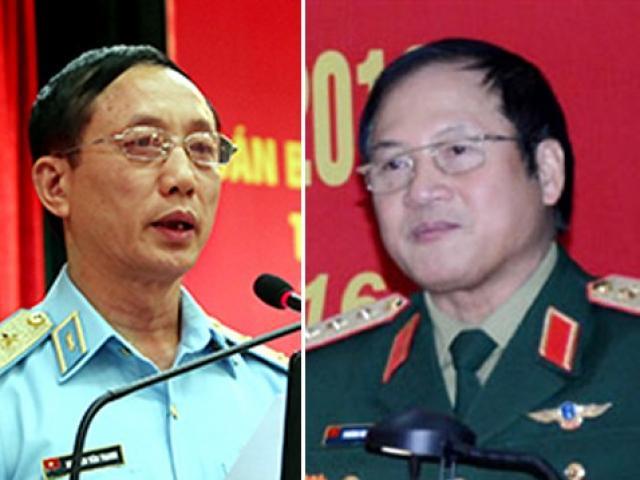 UBKTTƯ đề nghị kỷ luật 1 Thượng tướng và 1 Trung tướng