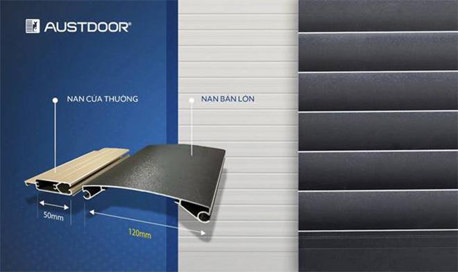 Austdoor ra mắt sản phẩm mới, đột phá độ lớn nan cửa cuốn - 1