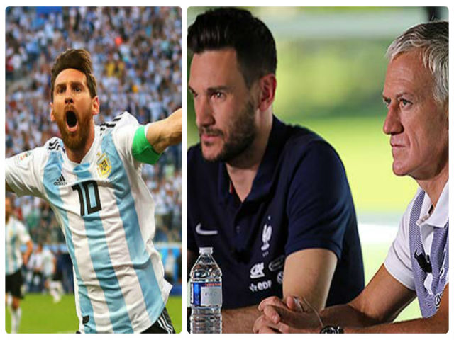 """Trực tiếp vòng 1/8 World Cup 2018: ĐT Pháp có kế hoạch """"bắt chết"""" Messi"""