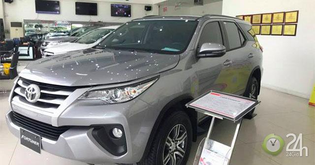 Mua xe Toyota Fortuner 2019 với mức giá bán hấp dẫn cùng nhiều quà tặng trong tháng này