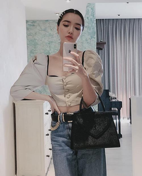 """Bích Phương cố tình mặc áo cổ rộng lộ nội y: """"Áo ngực cũng chỉ là áo thôi mà!"""" - 2"""
