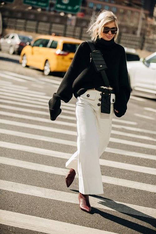 10 công thức tuyệt đẹp cho tín đồ mê quần jeans trắng - 5
