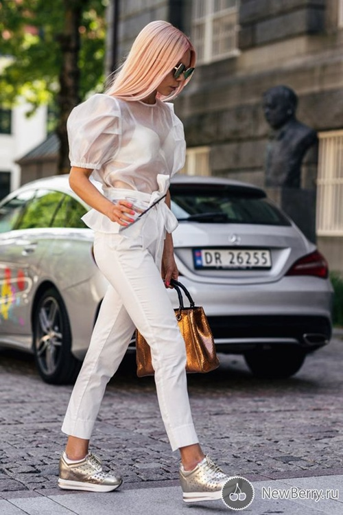 10 công thức tuyệt đẹp cho tín đồ mê quần jeans trắng - 9