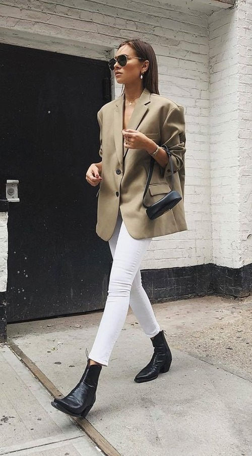 10 công thức tuyệt đẹp cho tín đồ mê quần jeans trắng - 6
