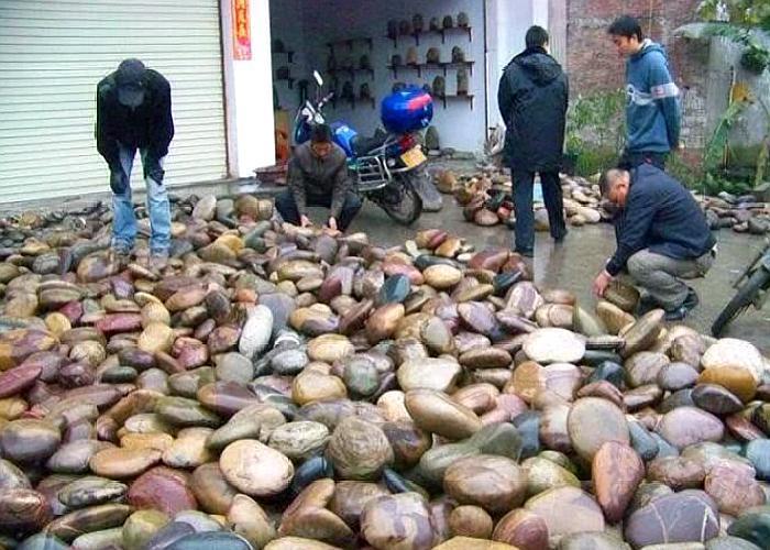 Nhặt đá ra tiền là có thật, thậm chí bán một hòn đá có thể mua được cả căn nhà - 1