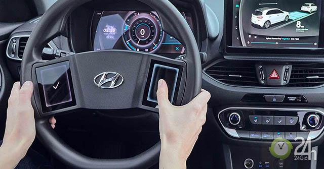 Hãng xe Hyundai đang nuôi ý định phát triển nội thất full màn hình