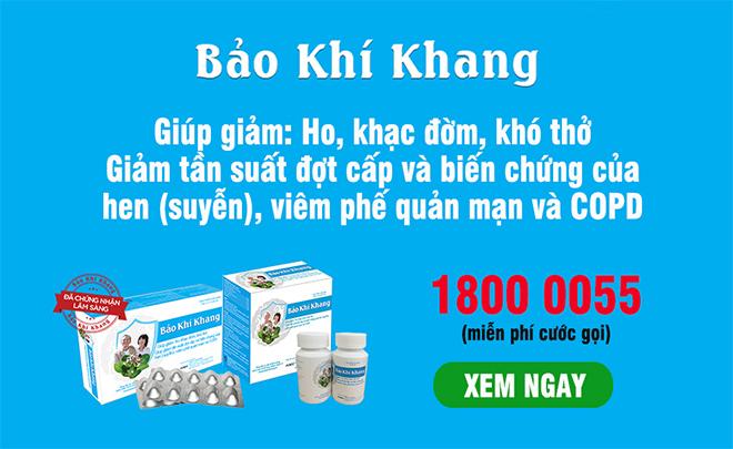 Hoa Kỳ công bố Việt Nam chế tạo thành công chế phẩm kiểm soát đờm, ho, khó thở, COPD - 5