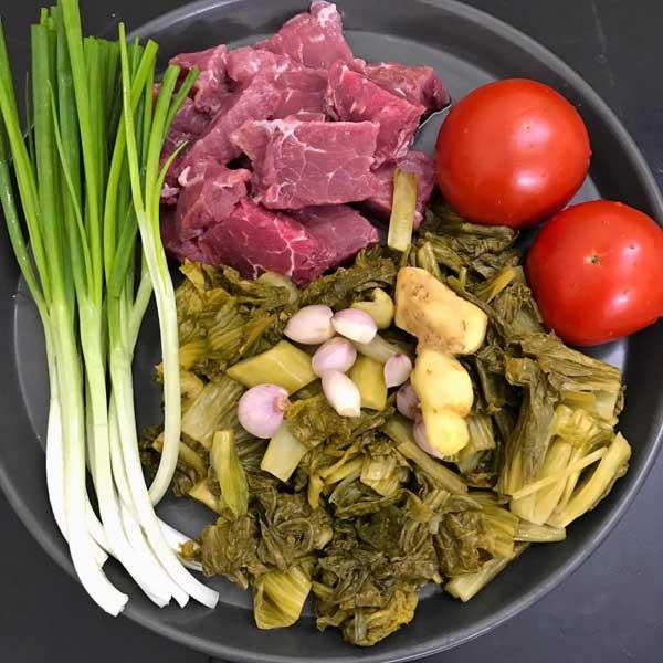 Cách làm món thịt bò kho dưa đơn giản nhất