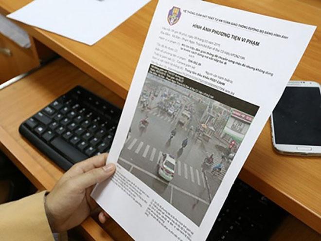 Những điều cần biết về xử phạt nguội vi phạm giao thông cánh tài xế cần biết - 1