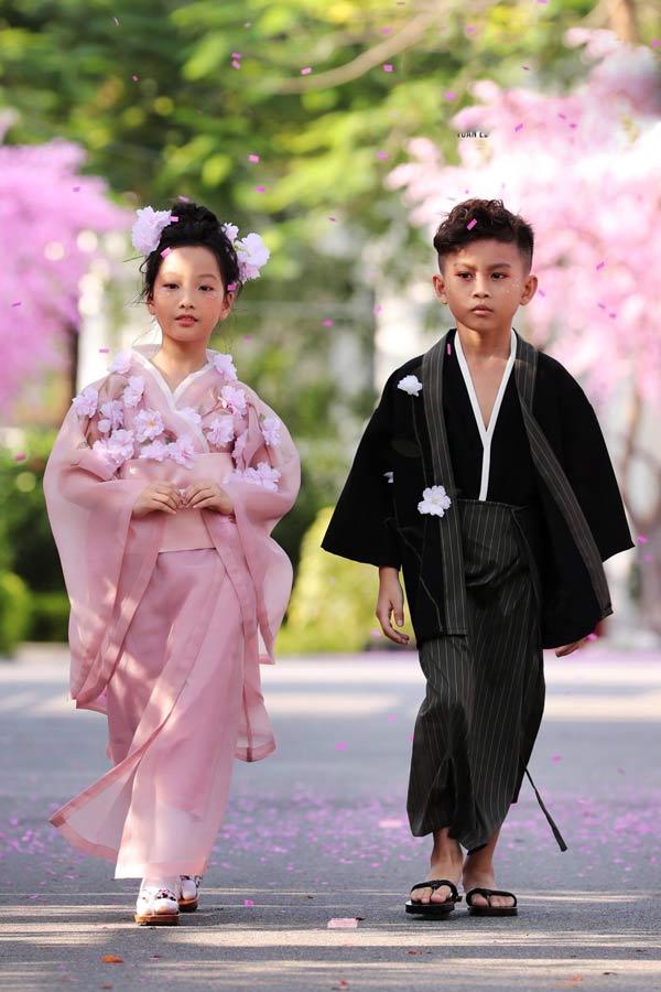 Cảm hứng Nhật Bản tại tuần lễ thời trang trẻ em Việt Nam - 3