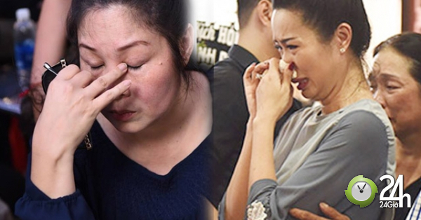 Dàn sao Việt khóc nức nở bên linh cữu của cố nghệ sĩ Anh Vũ