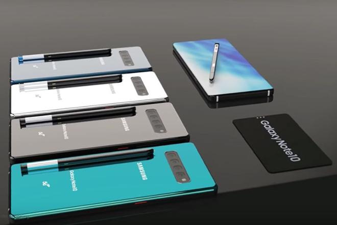 Samsung sẽ gây sốc với số lượng phiên bản Galaxy Note 10 - 1