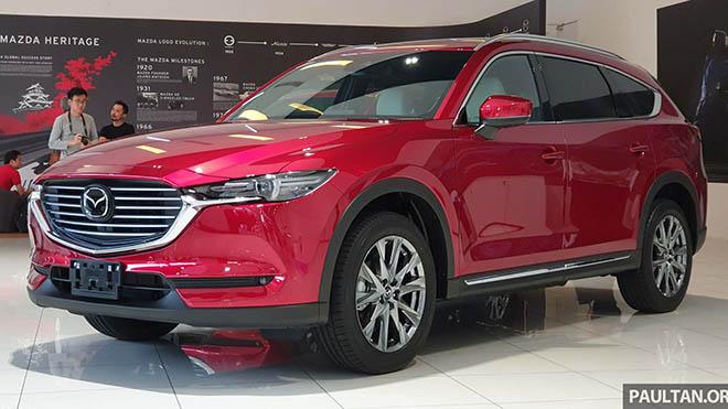 Mazda CX-8 rục rịch về Việt Nam trong tháng 6/2019, chuẩn bị đấu với Honda CR-V - 8