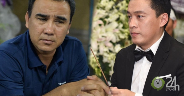 Quyền Linh, Lam Trường lặng người trước di ảnh của NS Anh Vũ lúc đêm muộn