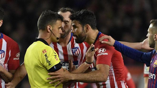 Diego Costa phát điên chửi trọng tài: Liga mạnh tay, ngỡ ngàng án phạt - 1
