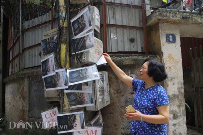 Hà Nội: Dán ảnh người xả rác trộm lên cột điện, ngõ xóm sạch bóng.3