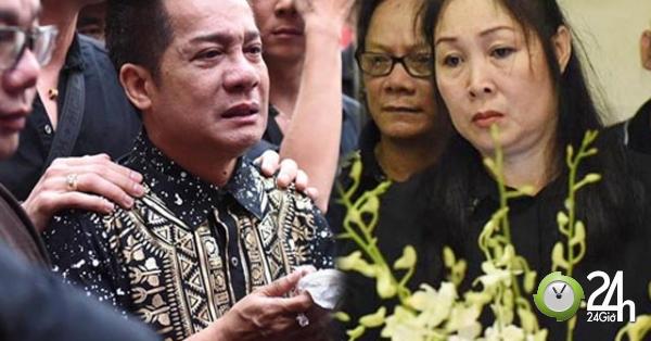 Sao Việt khóc nghẹn khi Thanh Bạch đọc điếu văn ở lễ động quan cố NS Anh Vũ