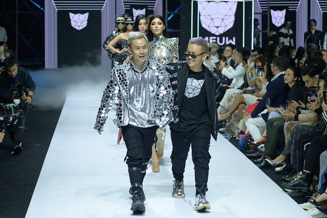 Viễn cảnh tương lai kỳ ảo trong show khai màn Tuần thời trang quốc tế Việt Nam - 1
