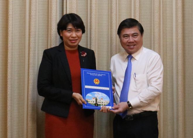 TP.HCM: Sở GTVT và Sở Kế hoạch & Đầu tư có Giám đốc mới - 2