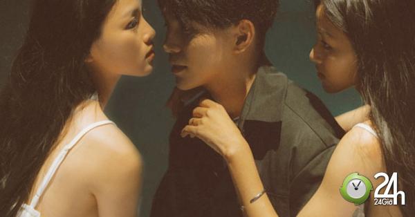 Cựu thành viên 365 diễn cảnh táo bạo với hot girl hao hao Jun Vũ