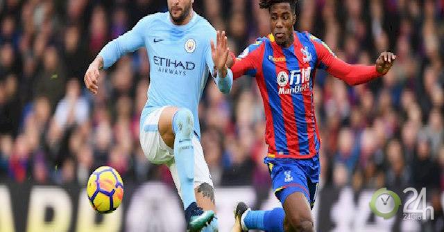 Trực tiếp Crystal Palace - Man City: Chủ nhà ép sân dữ dội