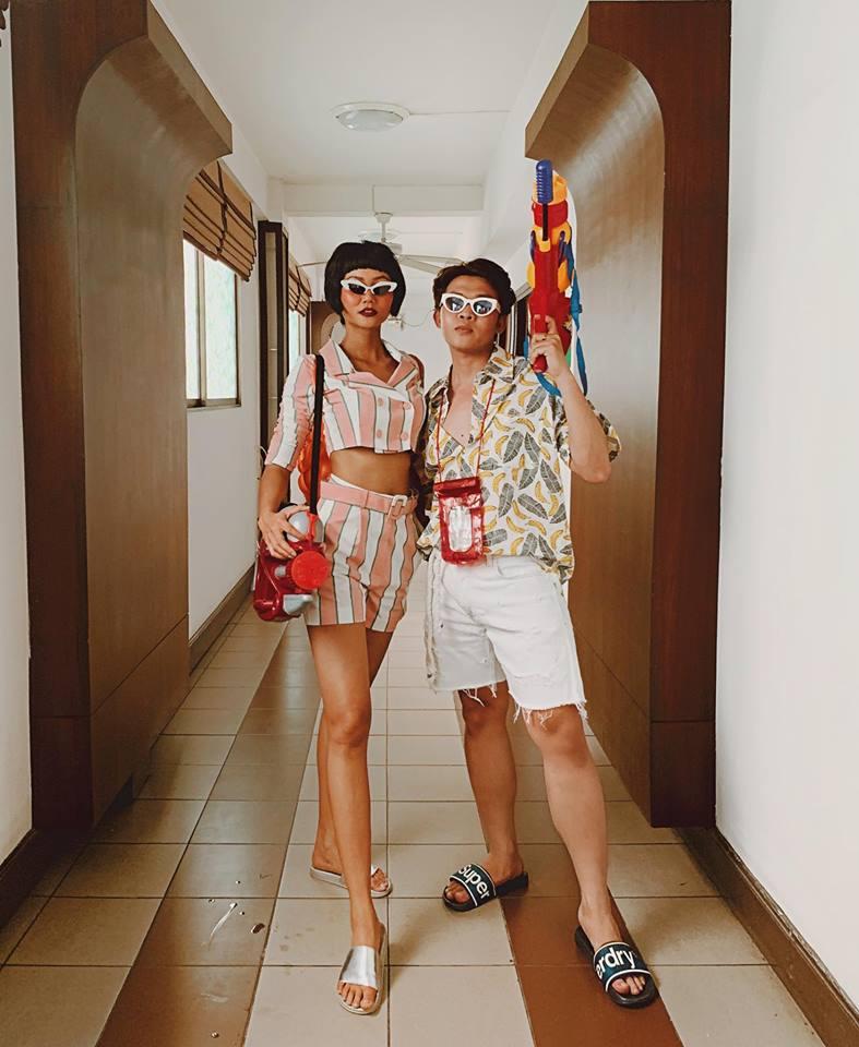 Khánh Phương, Hồng Quế... mặc gì đi hội té nước Thái Lan? - 9