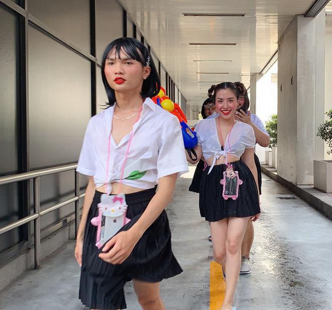 Khánh Phương, Hồng Quế... mặc gì đi hội té nước Thái Lan? - 6