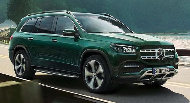 """Mercedes-Benz """"nhá hàng"""" thiết kế GLS thế hệ mới - 1"""