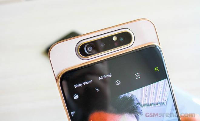 Trên tay Galaxy A80 - Smartphone trượt camera đầu tiên của Samsung - 8