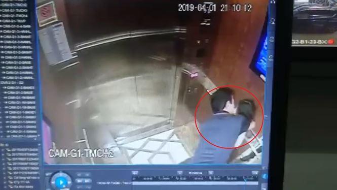 """Vì sao chưa khởi tố vụ cựu phó viện trưởng VKS """"nựng"""" bé gái trong thang máy? - 2"""