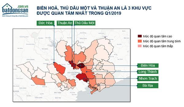 Giá đất vùng ven Sài Gòn khu vực nào tăng giá mạnh nhất