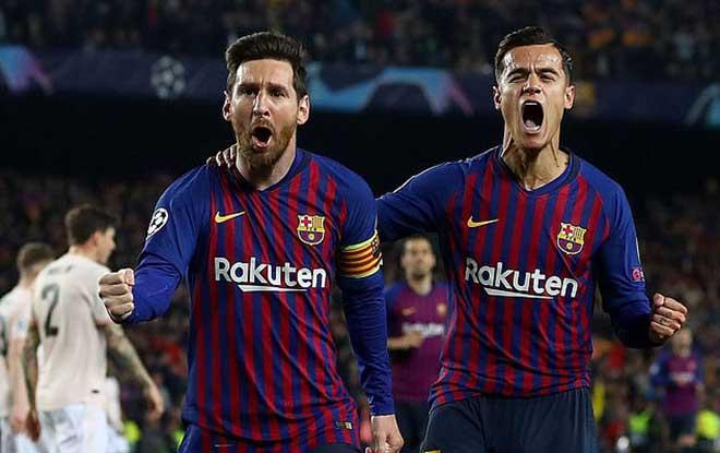 Siêu sao tỏa sáng Cúp C1: Messi bùng nổ cú đúp, Ronaldo vụt sáng rồi lịm tắt - 1