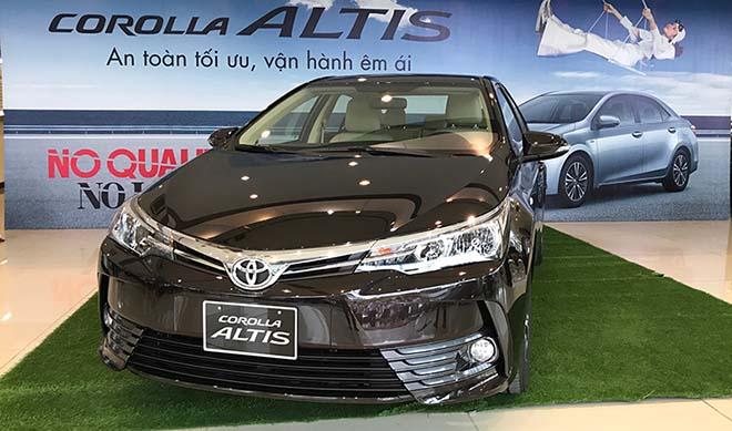 Bảng giá xe Toyota Altis 2019 lăn bánh, hỗ trợ trả góp lãi suất hấp dẫn - 3