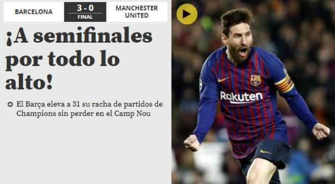 """Barcelona hạ MU: Báo chí Anh kinh ngạc """"ma thuật"""" Messi, chê tội đồ De Gea - 3"""